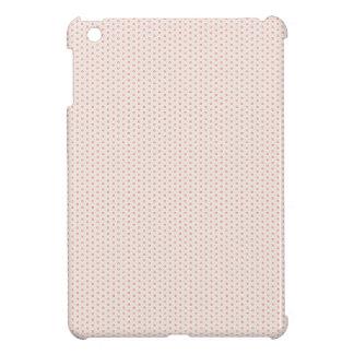 Red flowers pattern iPad mini covers