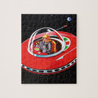 RED FLYING SAUCER PUZZLES