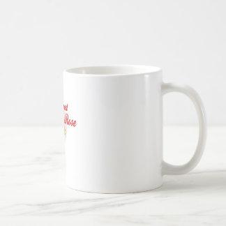 Red foes flower coffee mug