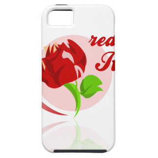 Red foes flower iPhone 5 case