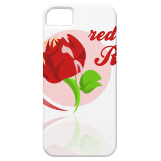 Red foes flower iPhone 5 cases