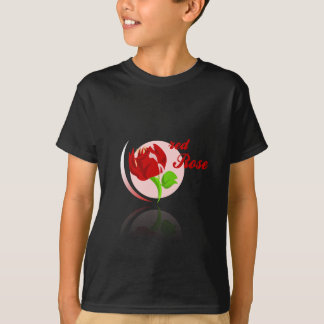 Red foes flower T-Shirt