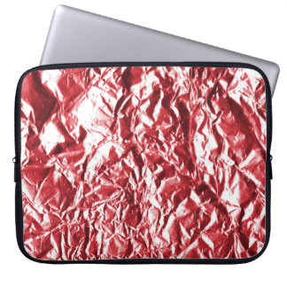 Red Foil #1 Laptop Computer Sleeve