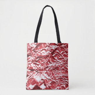 Red Foil #1 Tote Bag