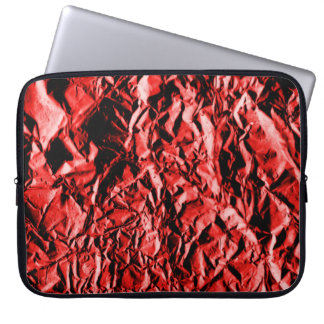 Red Foil #2 Laptop Sleeve