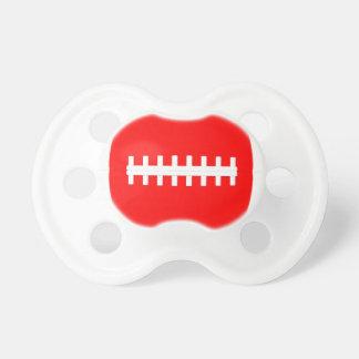 Red Football Baby Little Football Fan Pacifier