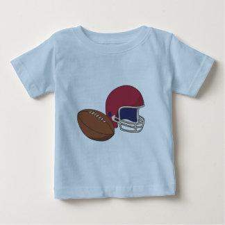 Red Football Helmet n Ball Baby T-Shirt