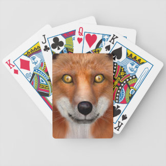 Red Fox Bicycle Playing Cards