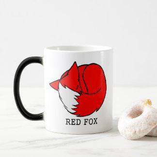 Red Fox, Blue Fox Magic Mug