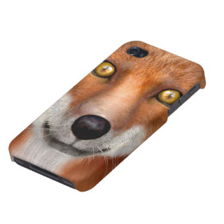 Red Fox Cover For iPhone 4