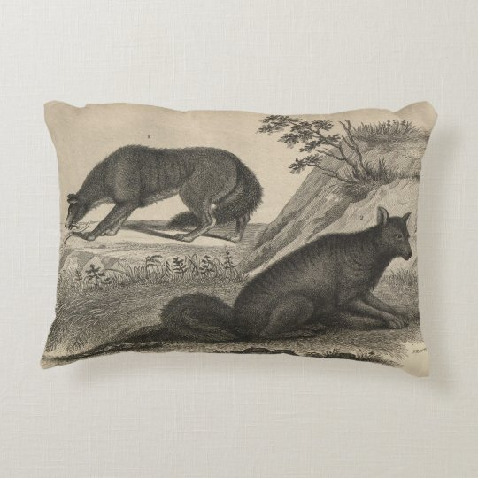 Red Fox Decorative Pillow