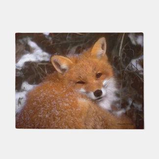 """""""Red Fox"""" Doormat"""