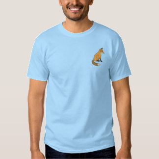 Red Fox Embroidered T-Shirt