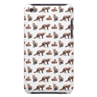 Red Fox Frenzy iPod Touch Case (choose colour)