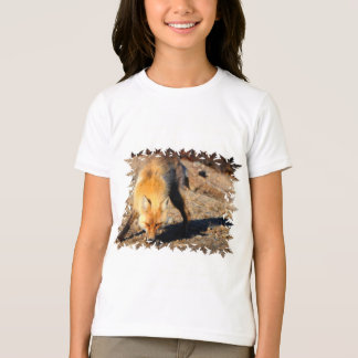 Red Fox Habitat Children's T-Shirt