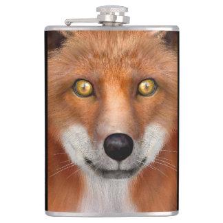 Red Fox Hip Flask