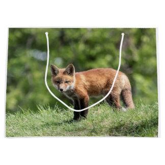 Red Fox Kit Large Gift Bag