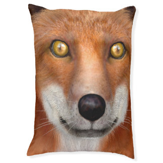Red Fox Large Dog Bed