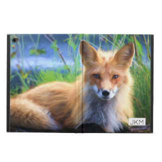 Red Fox Laying in the Grass Scenic Wildlife Powis iPad Air 2 Case