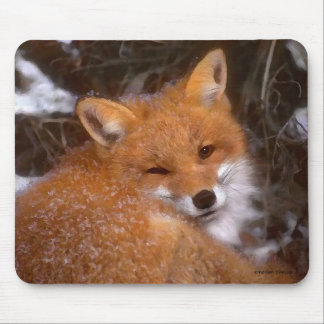 """Red Fox"" Mousepad"