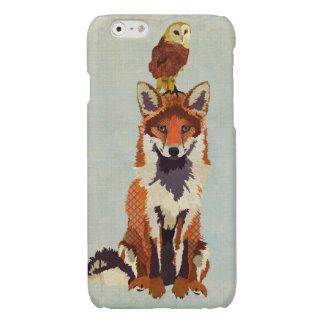 Red Fox & Owl