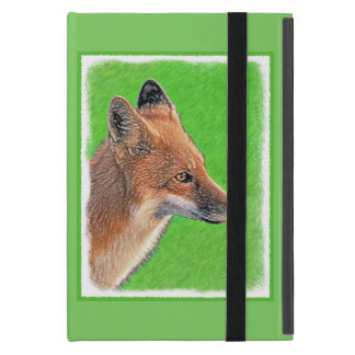 Red Fox Painting - Original Wildlife Art Cover For iPad Mini