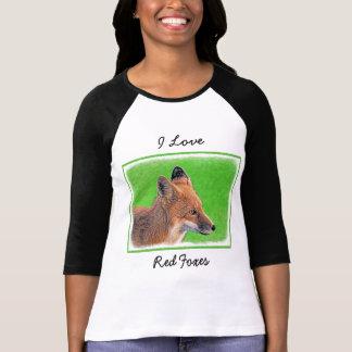 Red Fox Painting - Original Wildlife Art T-Shirt