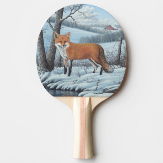 Red Fox Ping Pong Paddle