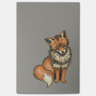 Red Fox Post-it Notes