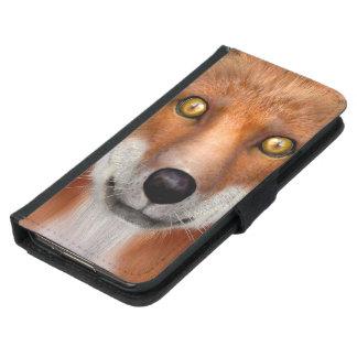 Red Fox Samsung Galaxy S5 Wallet Case