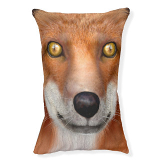 Red Fox Small Dog Bed