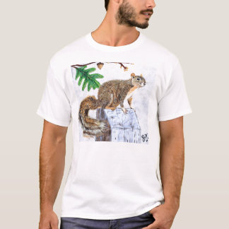 Red Fox Squirrel T-Shirt