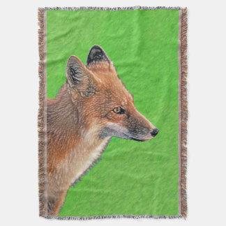 Red Fox Throw