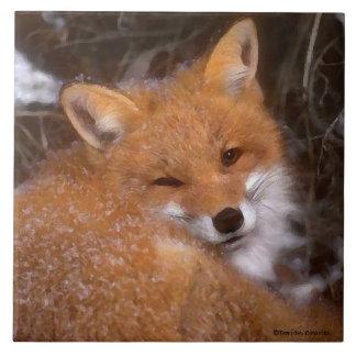 """""""Red Fox"""" Tile"""