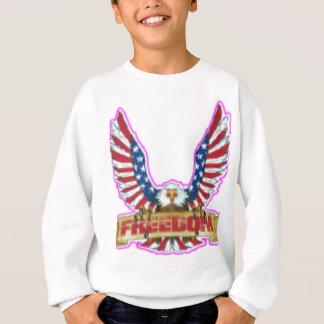 Red Freedom Eagle Banner Sweatshirt