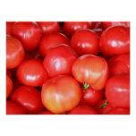 Red Fresh Juicy Tomatoes Kitchen Poster