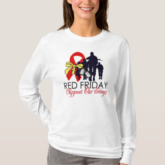 Red Friday - Support Our Troops T-Shirt