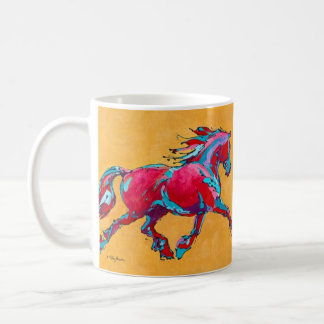 Red Friesian Mug