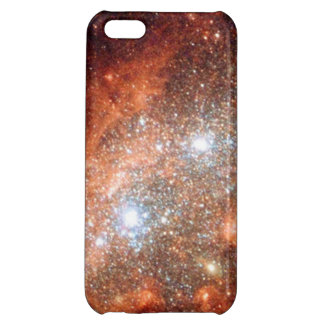 Red Galaxy iPhone 5 Case - Glossy
