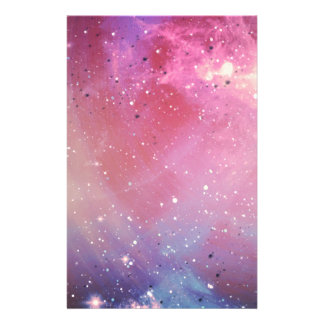 Red Galaxy Stationery Design