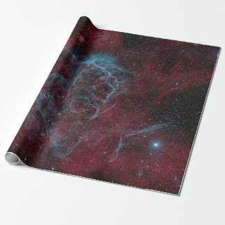 Red Galaxy Wrapping Paper