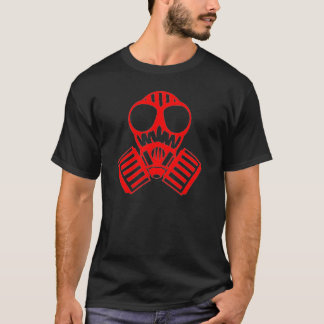 Red Gas Mask T-Shirt