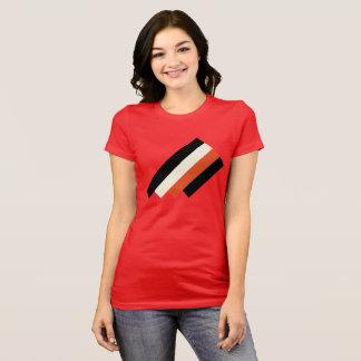 Red Geo Block T T-Shirt