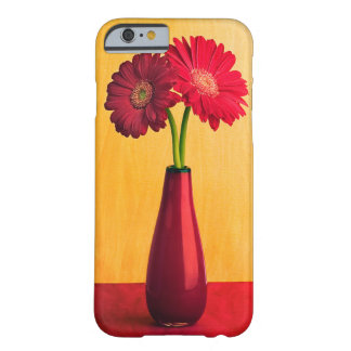 Red Gerber Daisy Flowers Vase Daisies Flower Barely There iPhone 6 Case