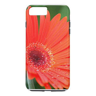 Red Gerber Daisy iPhone 7 Plus Case