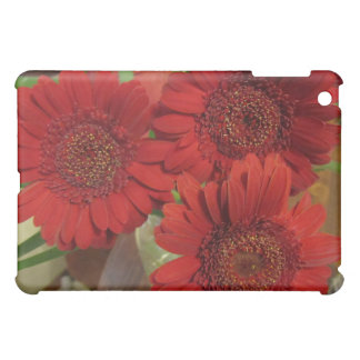 Red Gerbera Daisies Case For The iPad Mini
