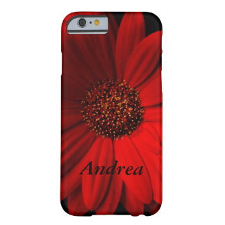 Red Gerbera Daisy Barely There iPhone 6 Case
