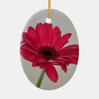 Red Gerbera Daisy Ornament