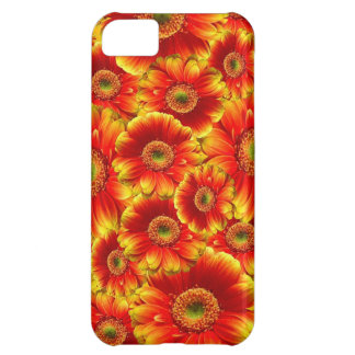 Red Gerberas Cover For iPhone 5C