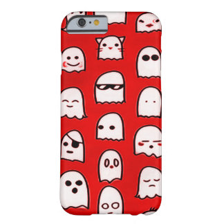 Red Ghost Party Airbrush Art iPhone Barely There iPhone 6 Case